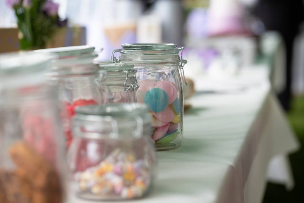 candy bar wedding desert table idea