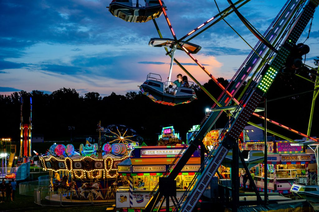 county fairs engagement photo dc