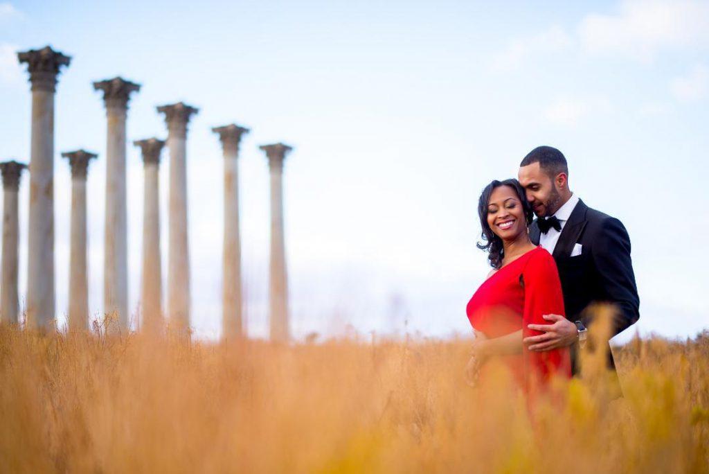 national arboretum engagement photo dc