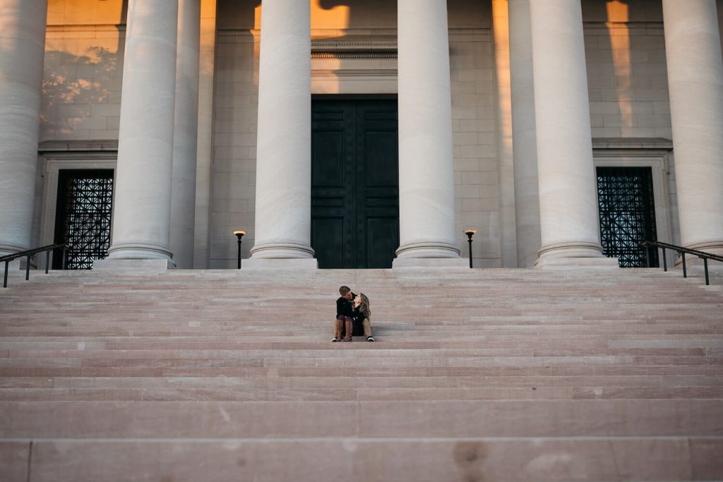national gallery of art engagement photo dc
