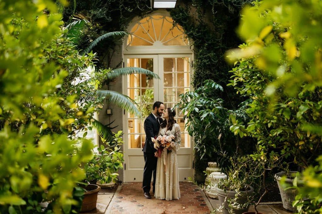 dumbarton oaks engagement photo dc
